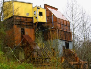 The Old Blue Diamond Mine:  My Place to Watch the Sunset